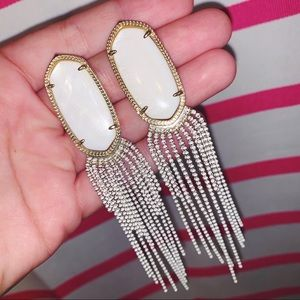 NWOT Kendra Scott dangle tassel earrings